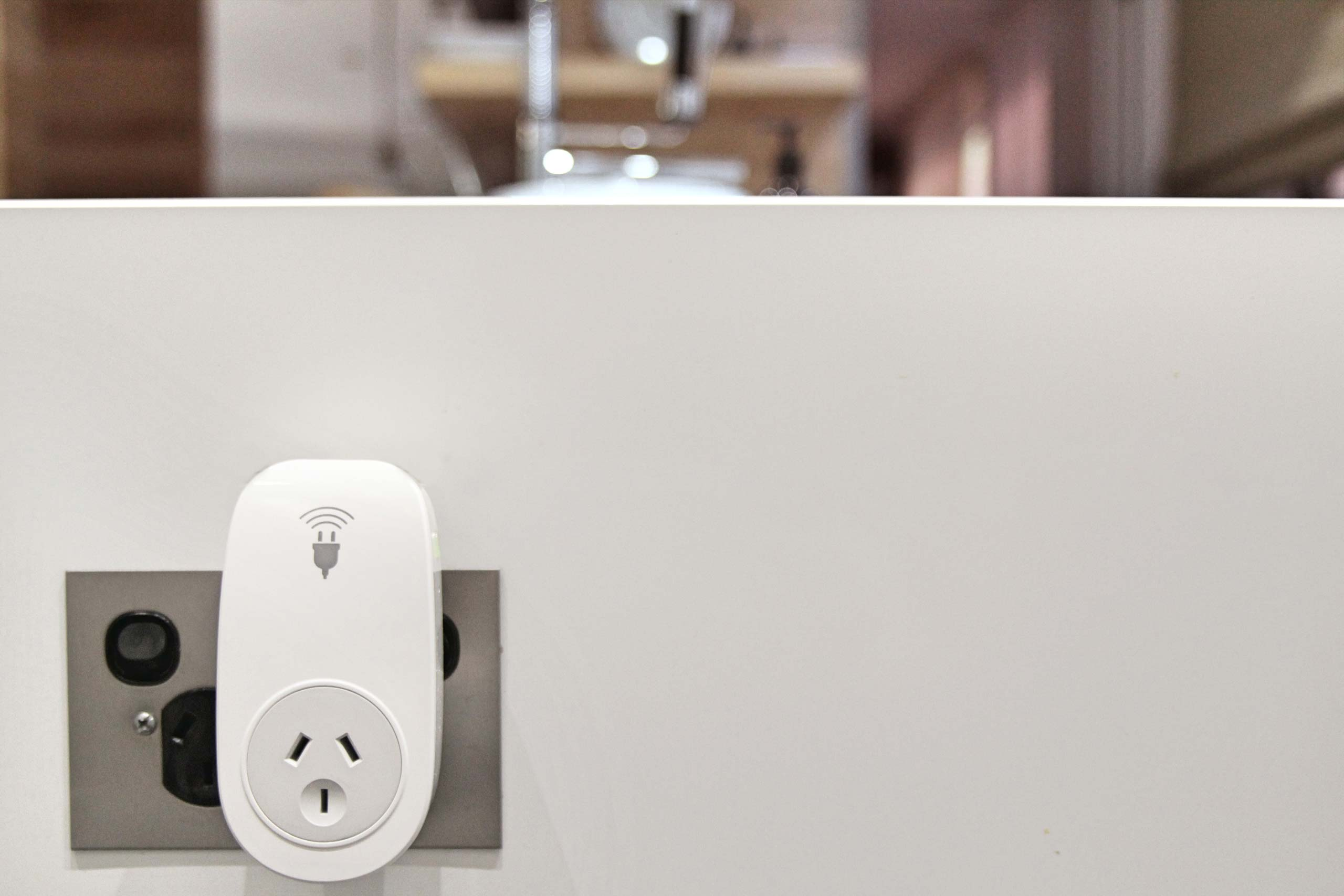Smart plug in the lounge room